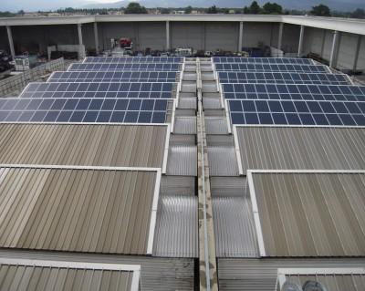 Impianto fotovoltaico 200 kWp su copertura