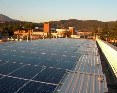 impianto fotovoltaico su copertura 99,36 kWp