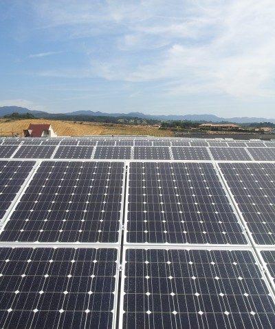 impianto fotovoltaico su copertura 100 kWp