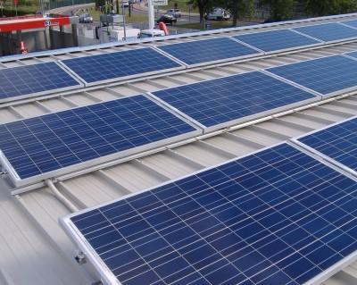 Impianto fotovoltaico su coperatura 100 kWp