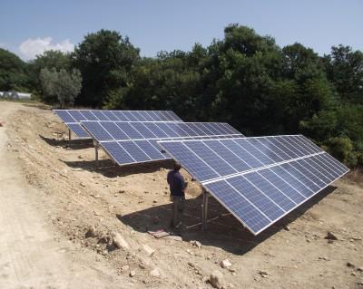 Impianto fotovoltaico a terra 20 kWp