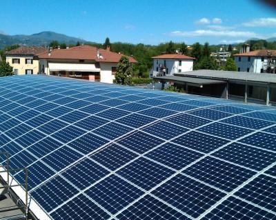 Impianto fotovoltaico su tetto a botte 67 kWp