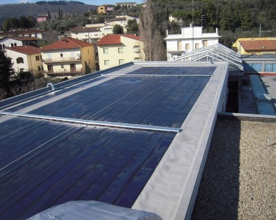 Impianto fotovolaico in film sottile 33 kWp