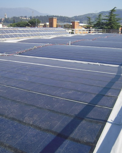 impianto fotovoltaico 29 kWp in film sottile